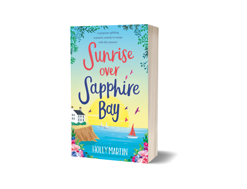 Image of Signed paperback of Sunrise over Sapphire Bay