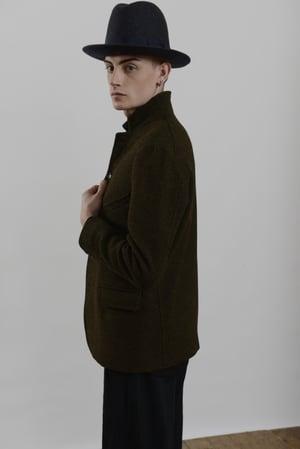 Image of Top Boy Jacket Heather wool £350.00