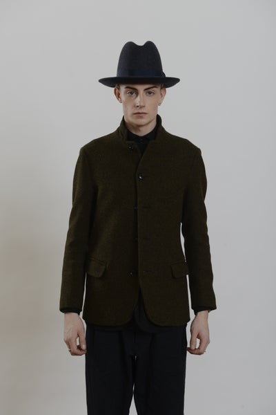 Image of Top Boy Jacket Heather wool
