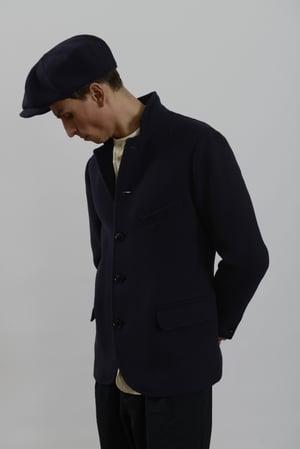 Image of Top Boy Jacket Navy wool