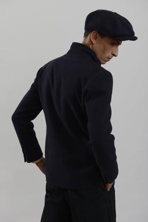 Image of Top Boy Jacket Navy wool £350.00
