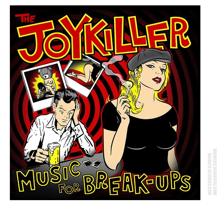 Image of The JOYKILLER - 'Music For Break-Ups' CD (WR032)