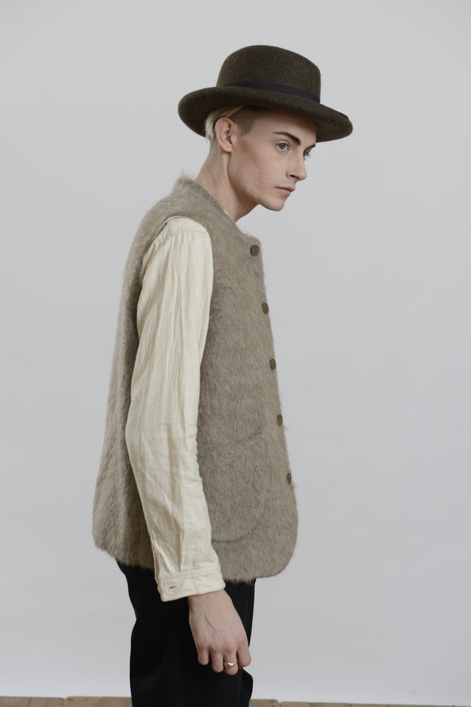 Image of Classic Gilet Mohair