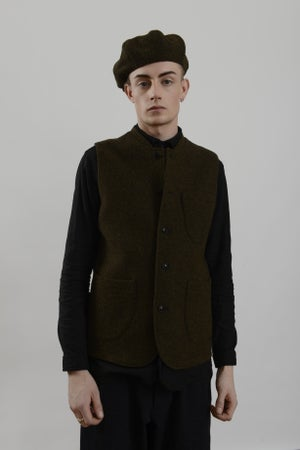 Image of Classic Gilet Heather wool