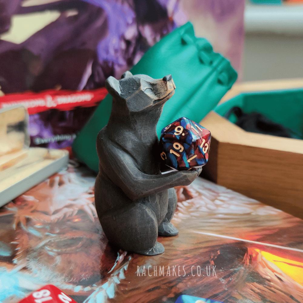 Image of Black Bear Dice Guardian.