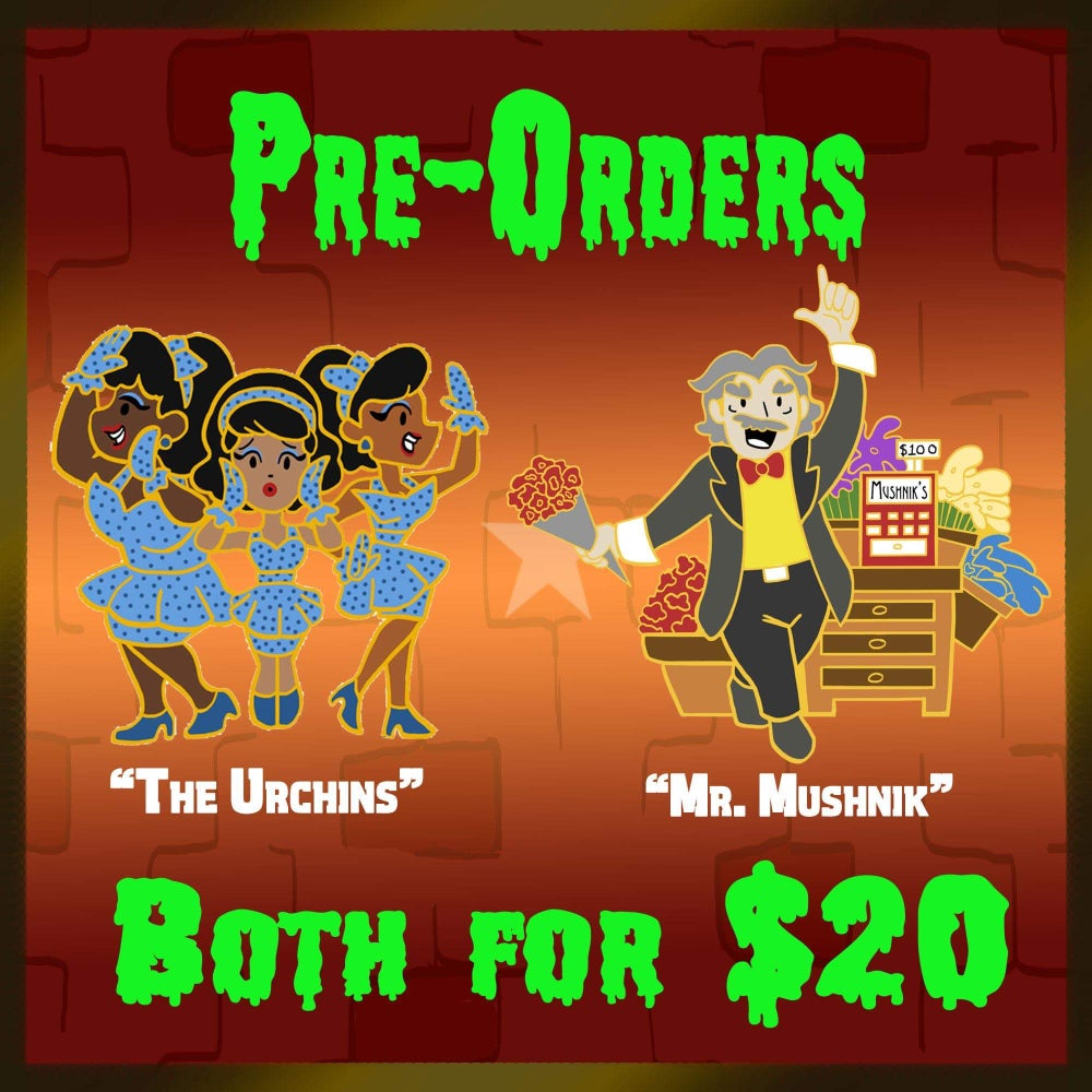 Image of Little Pins Pre-Orders, Mushnik and the Urchins