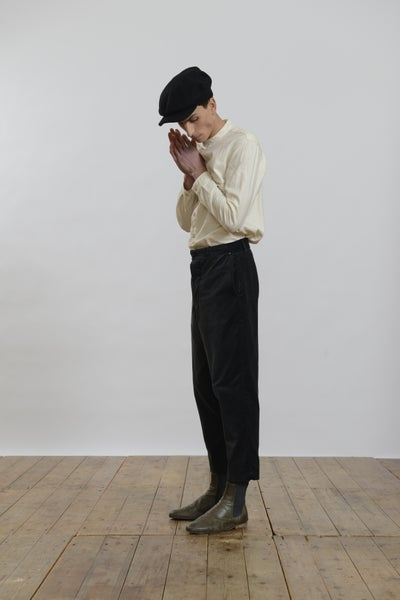 Image of Peaky Blinder Trouser Velvet
