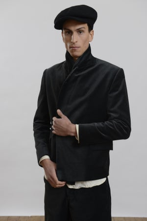 Image of Planger Short Jacket in Velvet