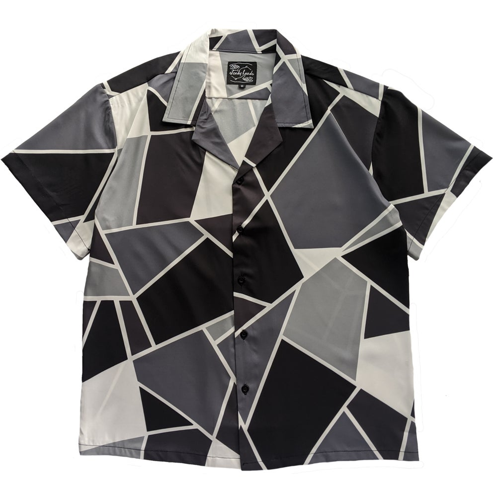 Image of Mono Fragmented Button Up