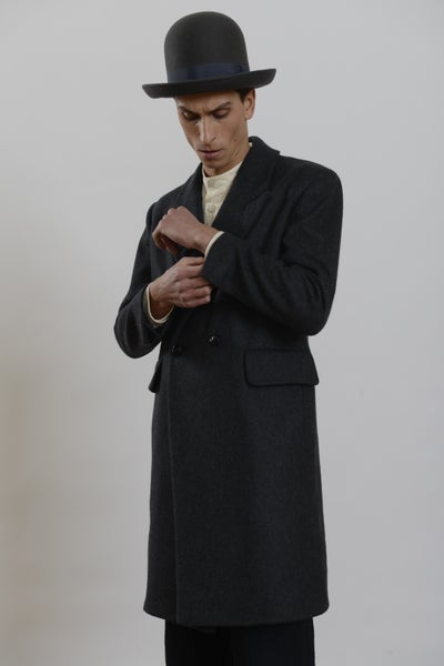 Image of Plangeur Coat in wool