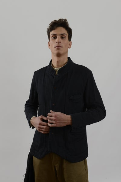 Image of Chinwest Jacket in Cotton Herringbone £405.00