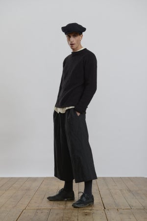 Image of Porter Trouser in Charcoal wool