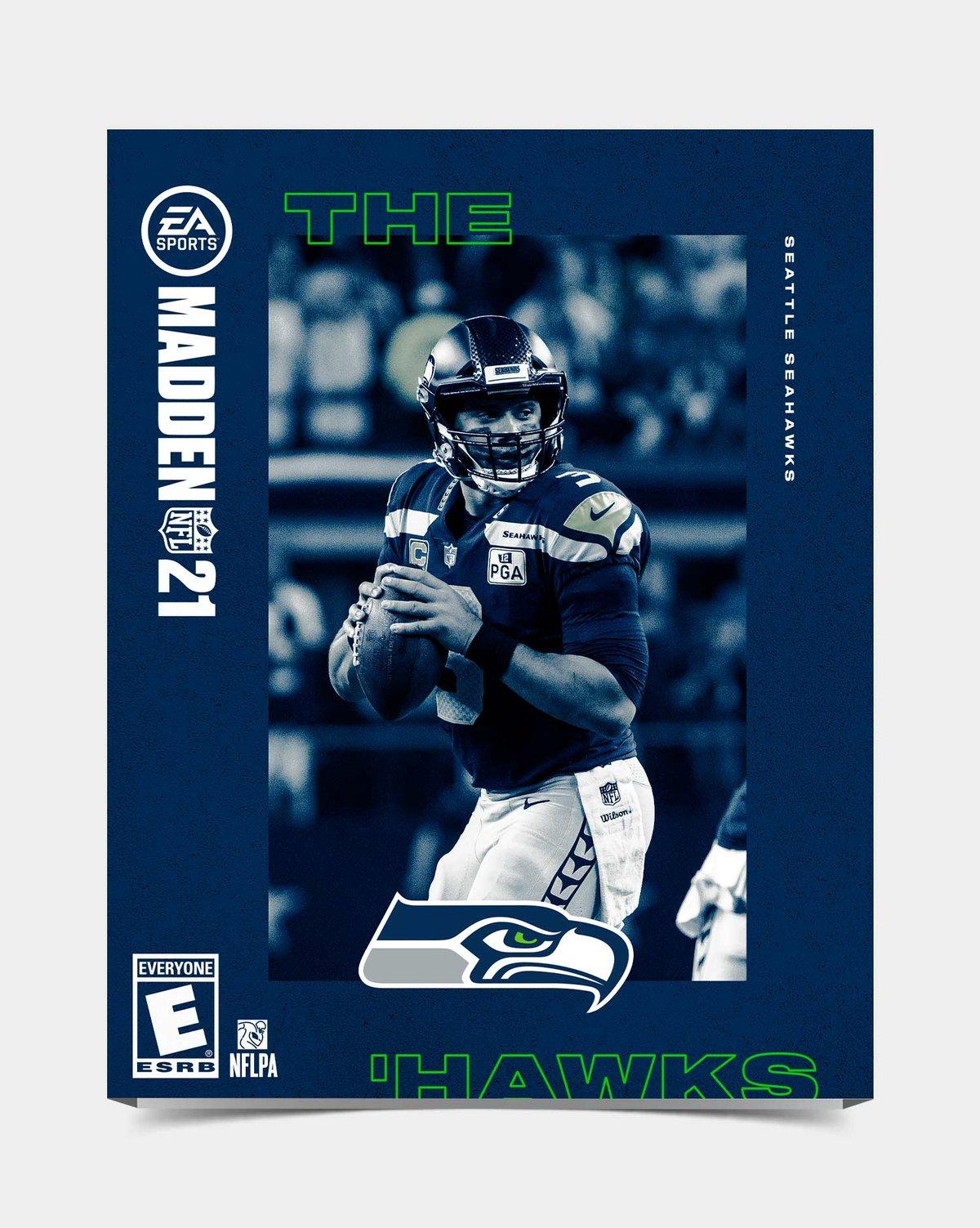 Image of Seahawks - Wilson12 Madden 21 Sleeve