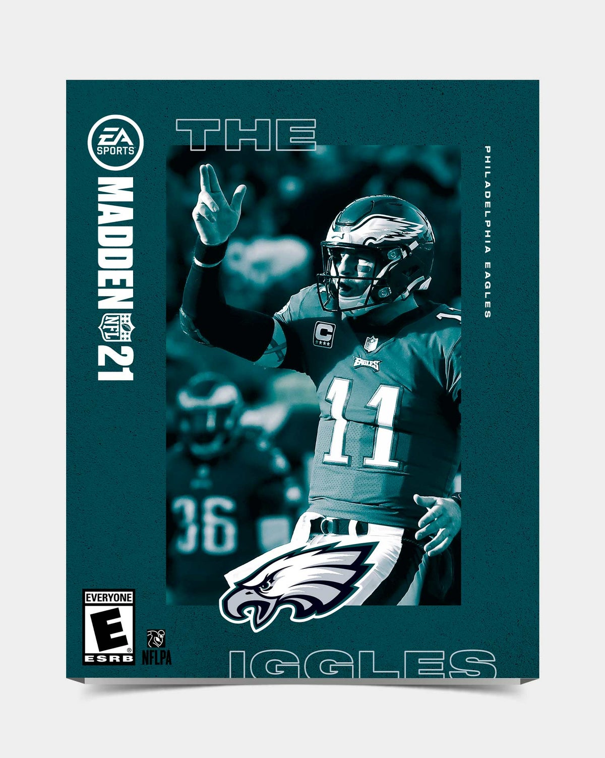 Image of Eagles - Wentz11 Madden 21 Sleeve