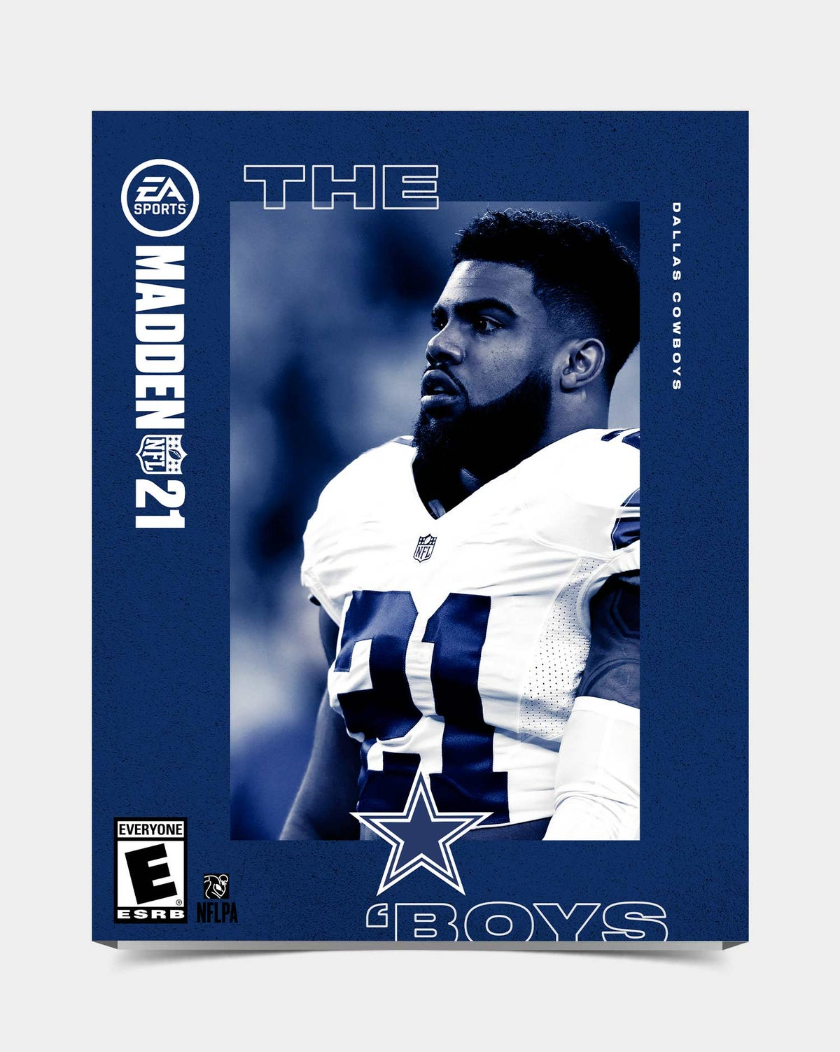 Image of Cowboys - Elliot21 Madden 21 Sleeve