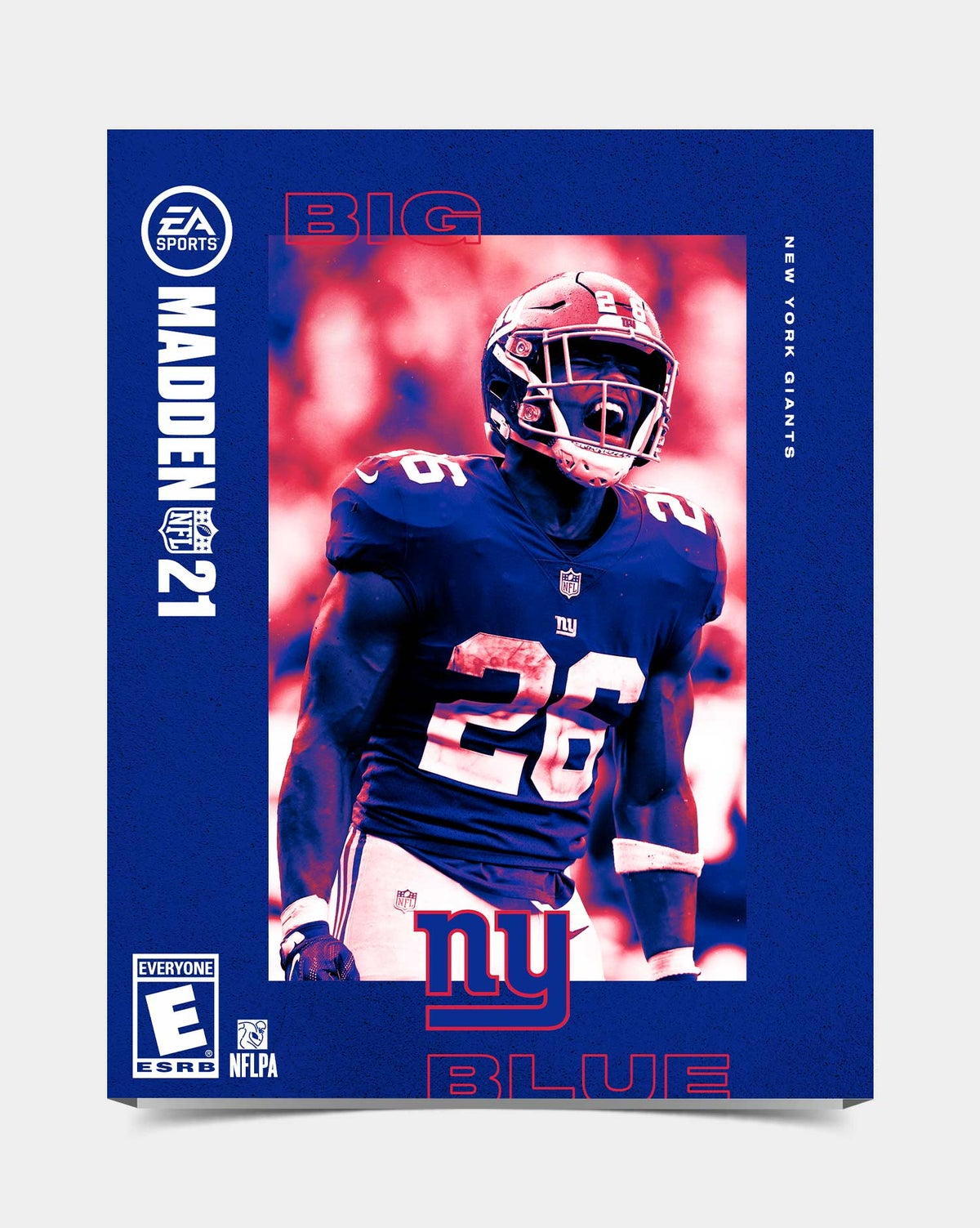 Image of Giants - Barkley26 Madden 21 Sleeve