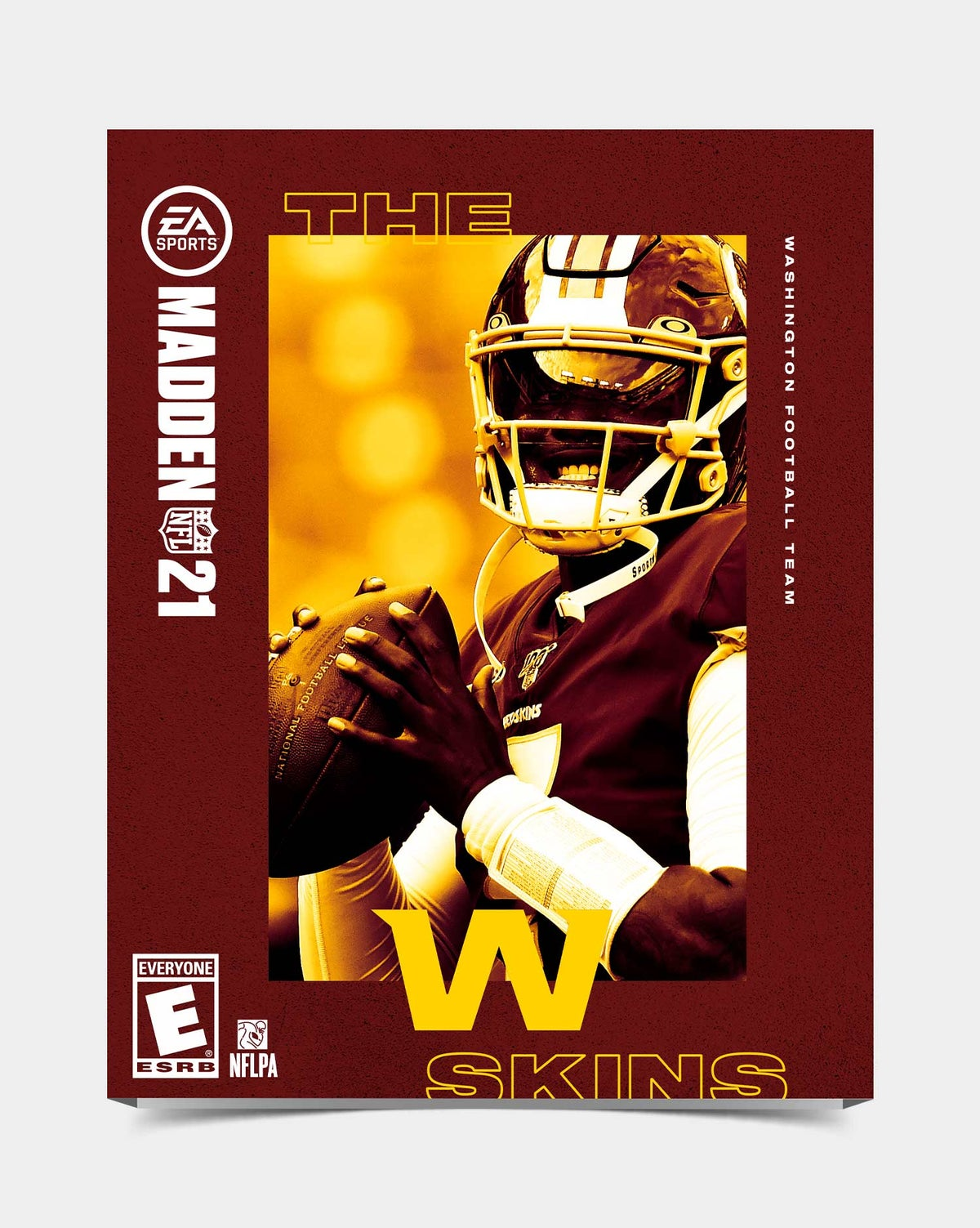 Image of Washington - HaskinsJr7 Madden 21 Sleeve