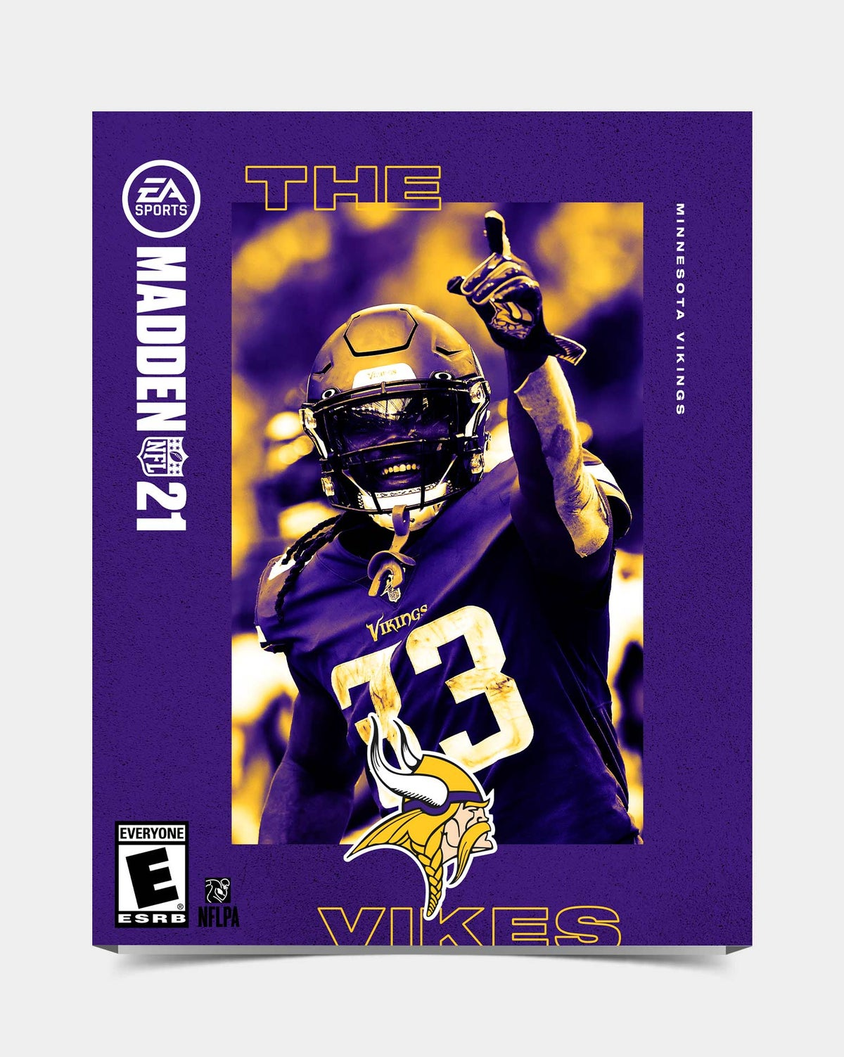 Image of Vikings - Cook33 Madden 21 Sleeve