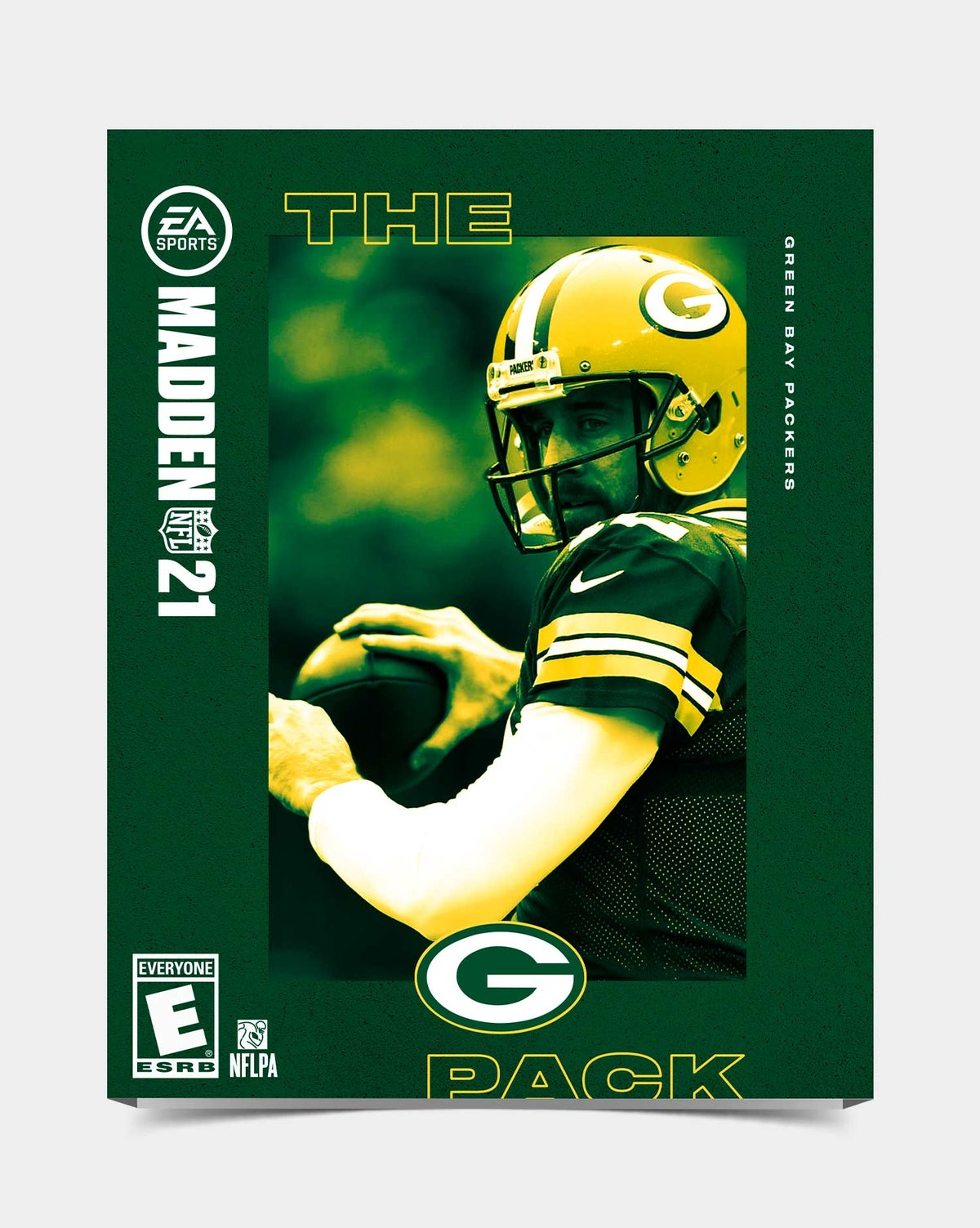 Image of Packers - Rodgers12 Madden 21 Sleeve