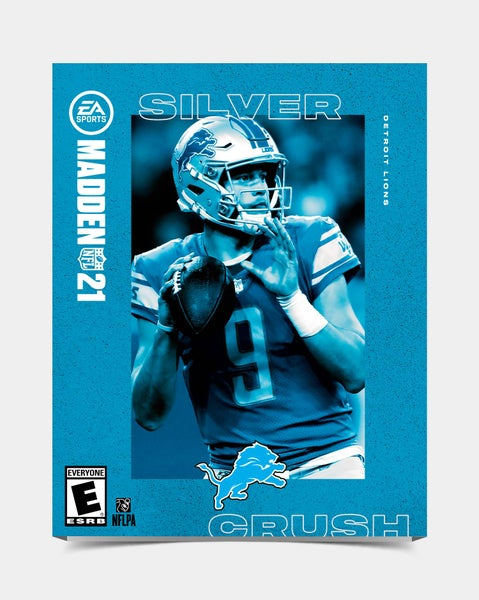 Image of Lions - Stafford9 Madden 21 Sleeve