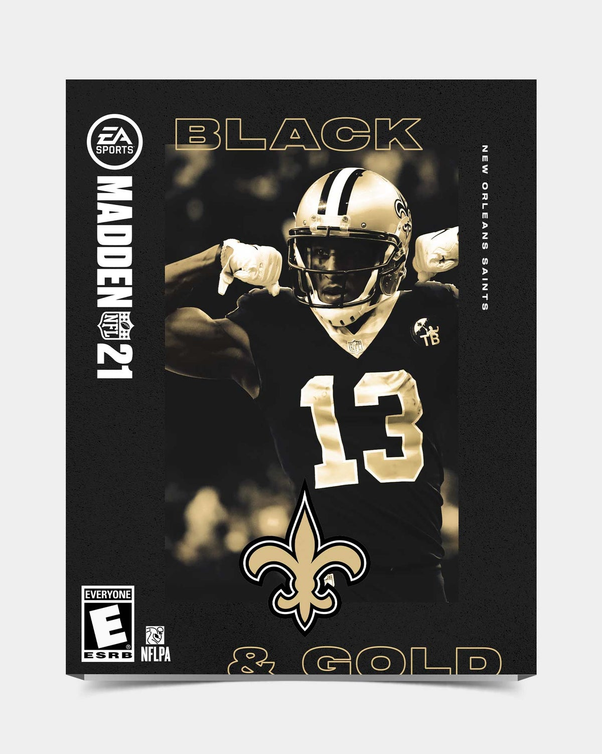 Image of Saints - Thomas13 Madden 21 Sleeve