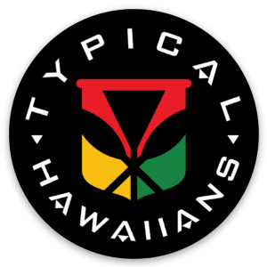 Image of Sticker - Typical Hawaiians Kanaka Maoli Circle Sticker