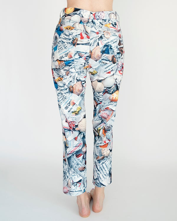 Image of Nara Pant in White Multi PRE-ORDER