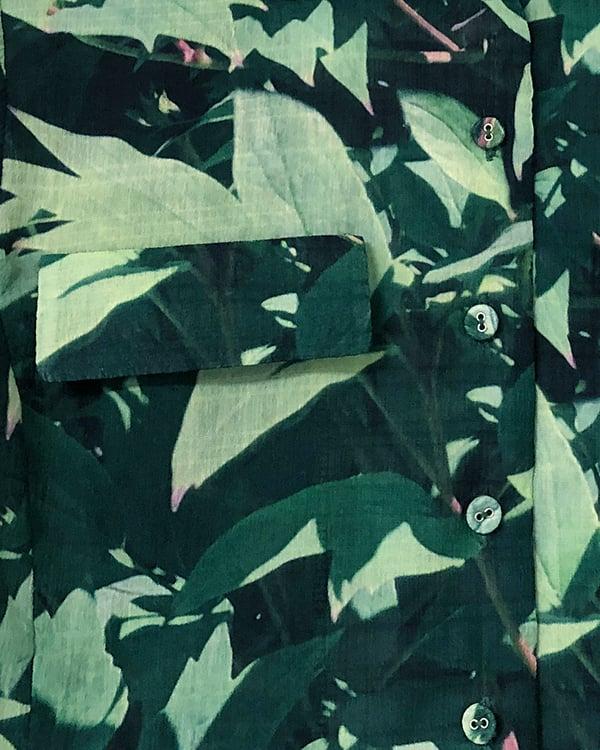 Image of Toni Shirt in Green Multi