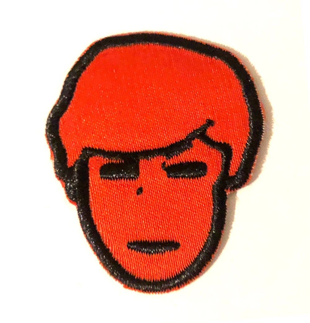 Image of FACE IRON ON PATCH