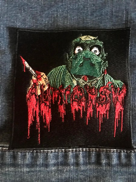Image of Severed Single Surgeon Embroidered Sew-on Patch