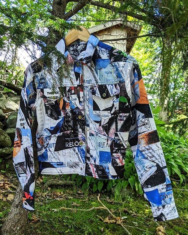 Image of Mesa Jacket in Blue Multi