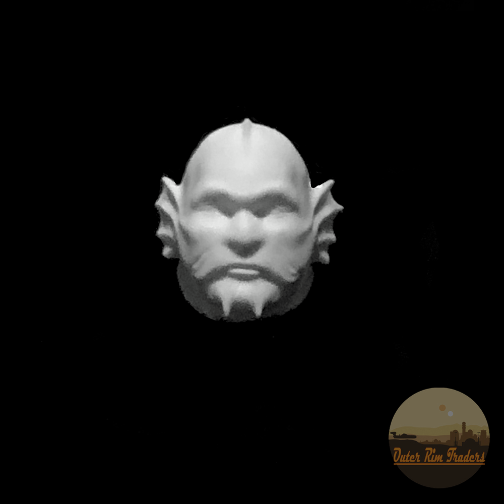 Image of Fishface sculpted by Mati Zander