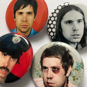 Album Heads Button Pack