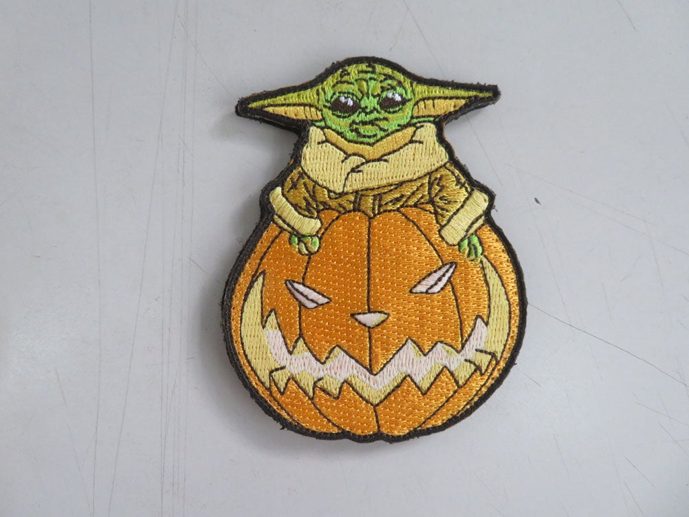 Image of The Child Halloween Patch Glow in Dark