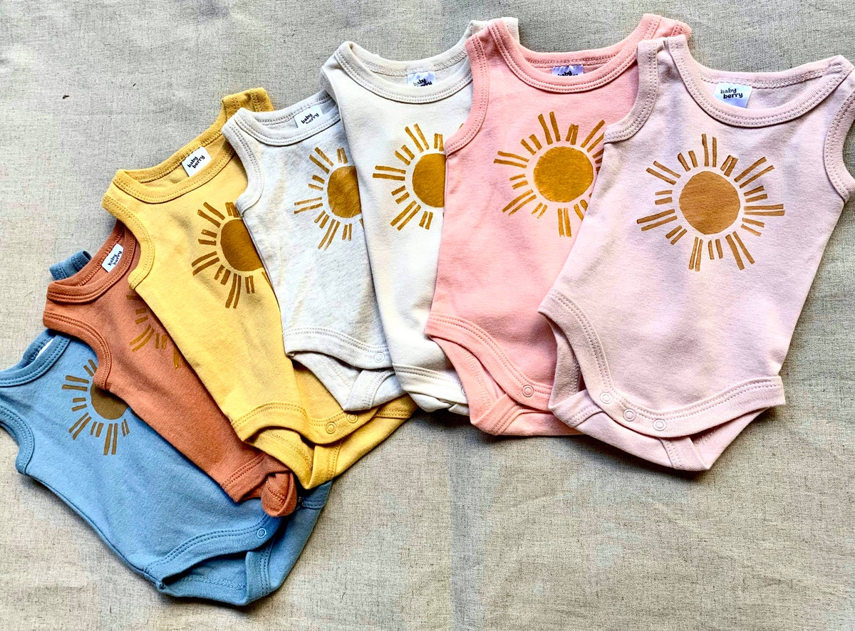 Image of Sun Stamped Romper