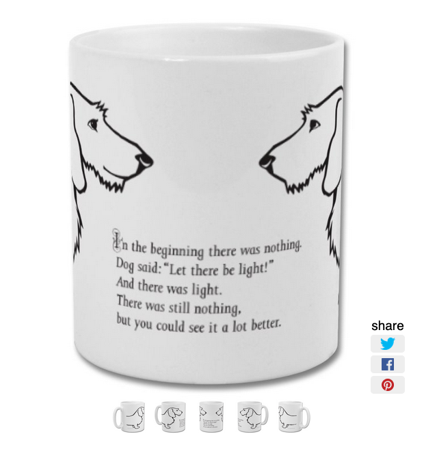Image of Dog mug