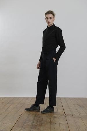 Image of Top Boy Trouser in Cotton Herringbone