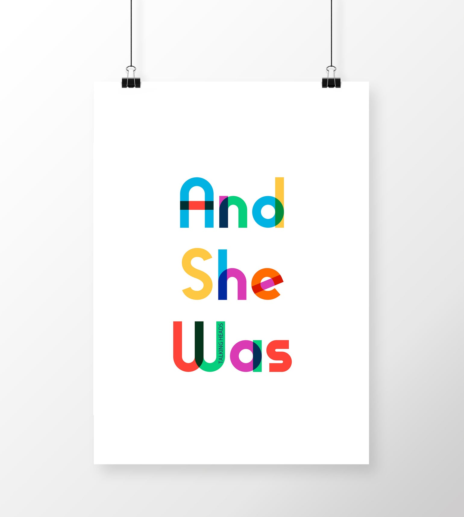 Image of And She Was