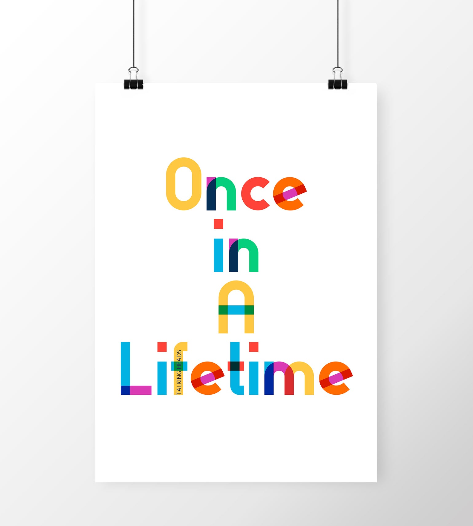 Image of Once In A Lifetime