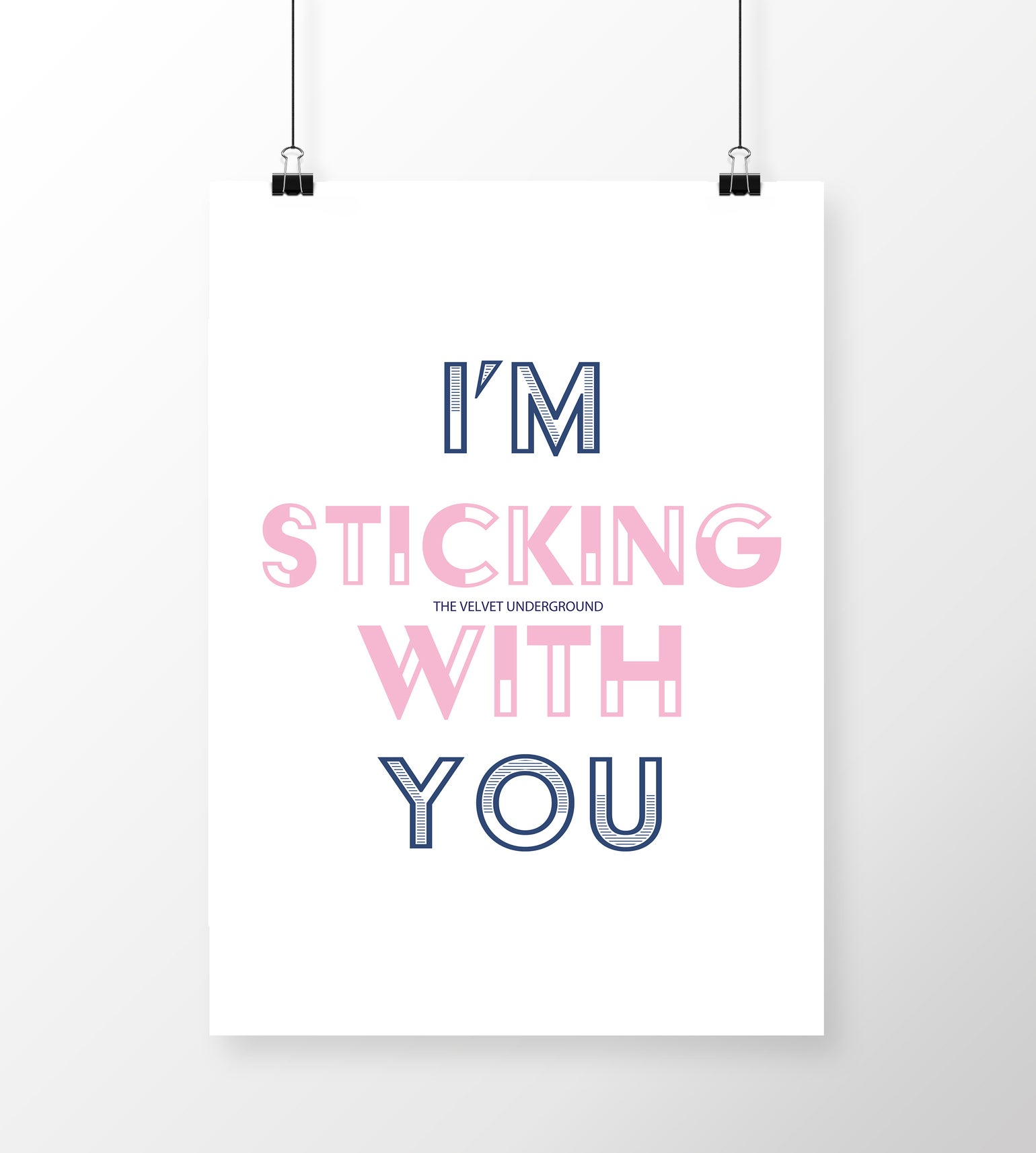 Image of I'm Sticking With You