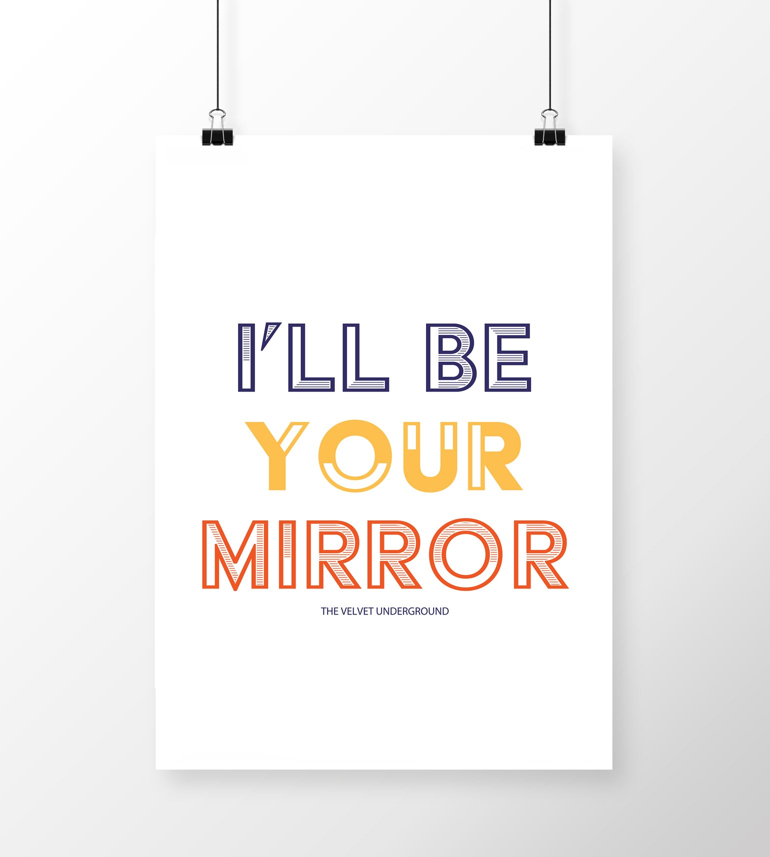 Image of I'll Be Your Mirror