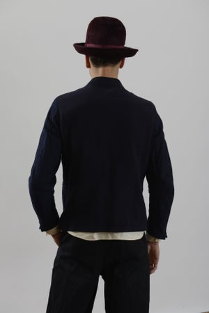 Image of Duke Jacket Navy wool