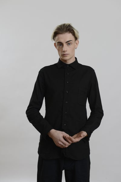 Image of One Shilling Shirt Black