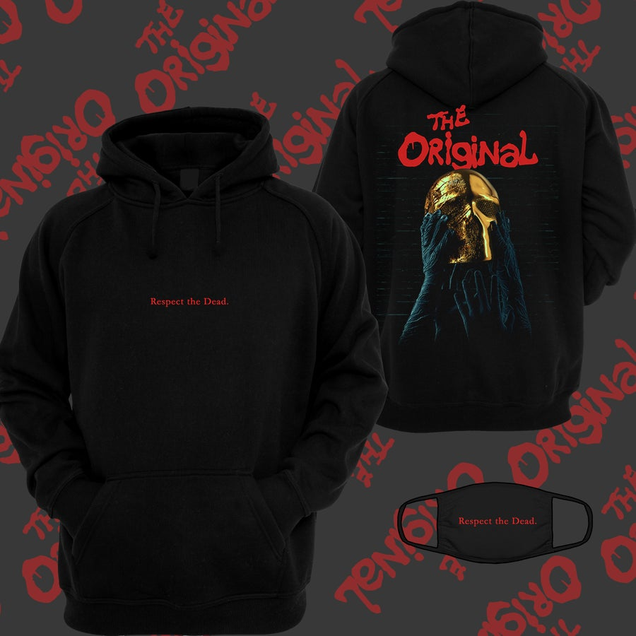 Image of RESPECT THE DEAD HOODIE + MASK