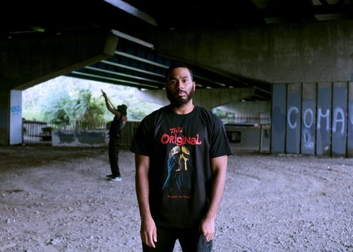 Image of RESPECT THE DEAD TEE + MASK