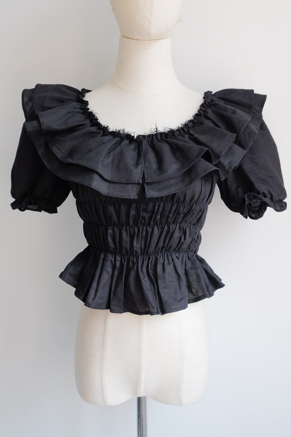 Image of SAMPLE SALE - Unreleased Black Top 026