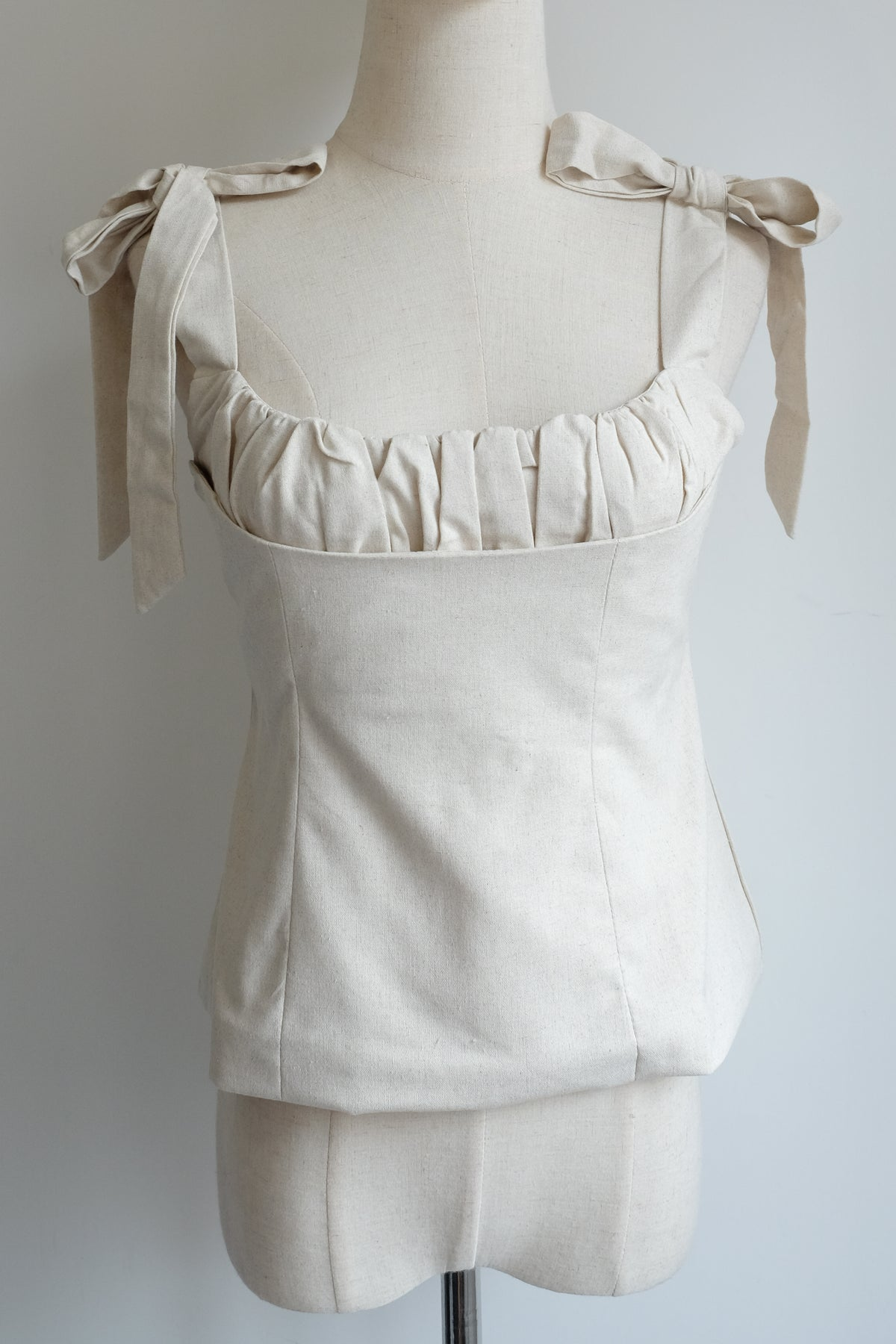 Image of SAMPLE SALE - Unreleased Ivory Vest 027