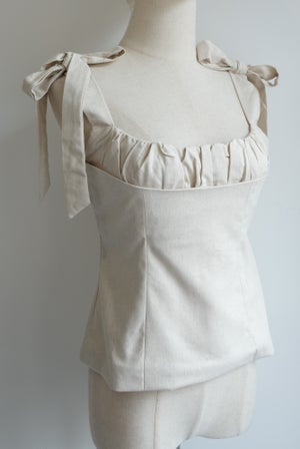 Image of SAMPLE SALE - Unreleased Ivory Vest 027