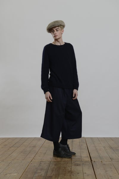 Image of  Paris Mohair Jumper NAVY