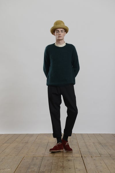 Image of Paris Mohair Jumper GREEN
